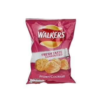 Walkers Potato Chips Prawn & Cocktail 32.5g