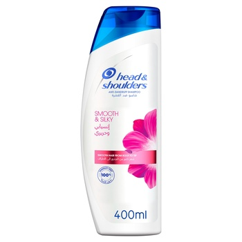 Head & Shoulders Anti Dandruff Shampoo Lively & Silky 400ml