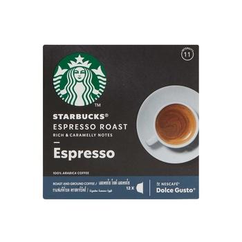 Starbucks Dolce Gusto Dark Espresso Capsules 66g