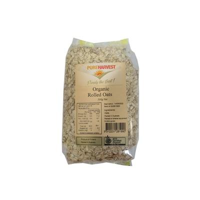 Pureharvest Organic Rolled Oats 500g