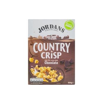 Jordans Country Crispy Dark Chocolate  500g