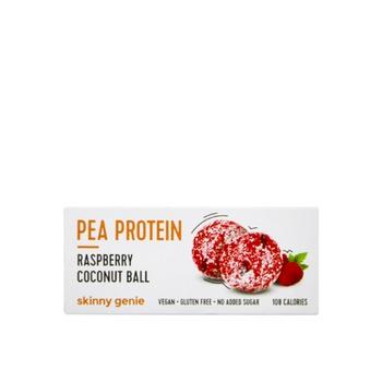 Skinny Genie Vegan Gluten Free Rasberry Coconut Protein Ball 40g