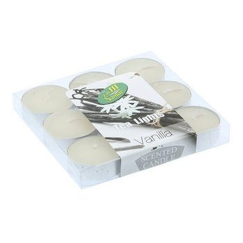 Samar Tea Light Candle 9s Pack- Vanilla