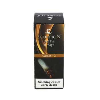 Scorpion Dokha (Tobacco)-Gold