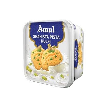Amul Ice Crm Shahsta Pista Kulfi 1 ltr