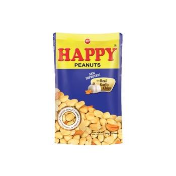 Happy Peanuts Garlic 100g