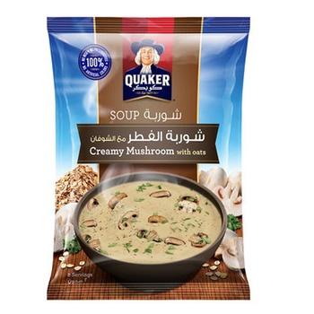 Quaker Soup Creamy Mushroom With Oats 64g
