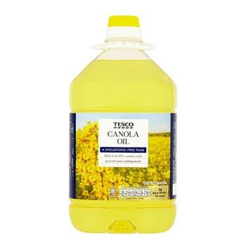 Tesco canola oil 3 liters