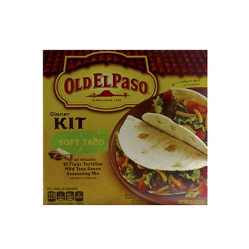 Old El Paso Dinner Kit Soft Taco 354g