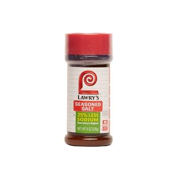 Lawrys Salt Seasoned Les Sodium 8oz