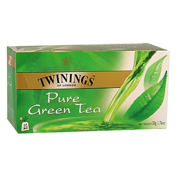 Twinings Goldline Green Tea 25S – Pure
