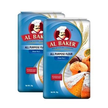 Al Baker Plain Flour 2 x 2kg