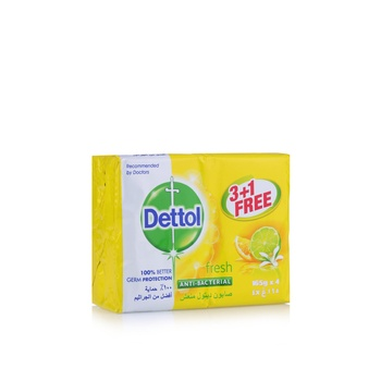 Dettol Soap Fresh 3+1X165g