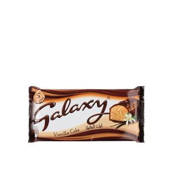 Galaxy Cake Vanilla 5X33g