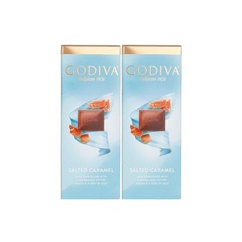 Godiva Seasalt Crml Tab 2X90g