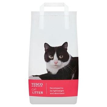 Tesco Everyday Value Light Weight Cat Litter 10ltr