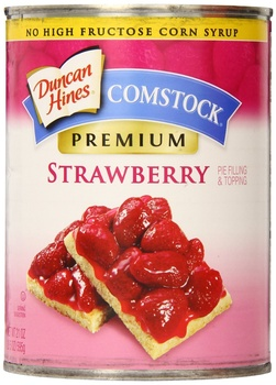 Comstock  strawberry pie filling 21oz
