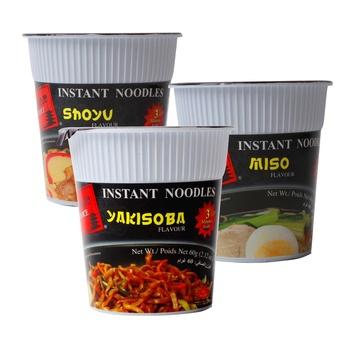 Japanese Noodles - Instant Cup Noodles Yakisoba Flavor 3x60g