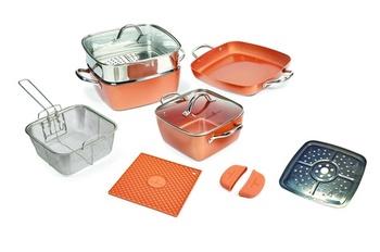 Copper Chef 12 pcs Cookware set