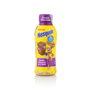 Nesquick low fat double chocolate milk 14floz