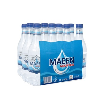 Maeen Mountain Natural Mineral Water 500ml pack of 12