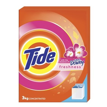 Tide Washing Powder Downy Top Load 3kg
