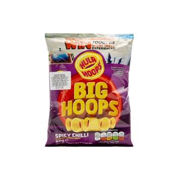 Hula Hoops Big Hoops Chilli 96g