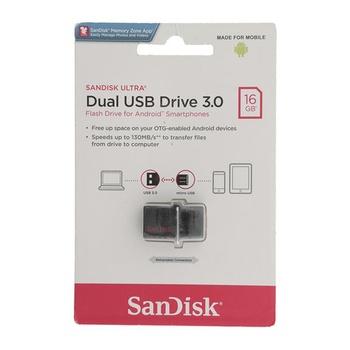 Sandisk Dual USB Drive 3.0 Dd2 16 GB