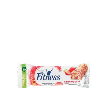 Nestle Fitness Strawberry Cereal Bar