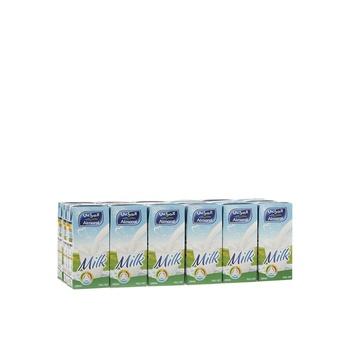 Almarai uht milk full cream 18x200ml