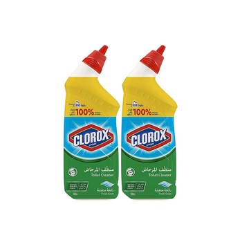Clorox Toilet Bowl Cleaner Fresh Scent 709ml Pack Of 2