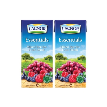 Lacnor Mixed Beries 8 x 125ml @ Special Price