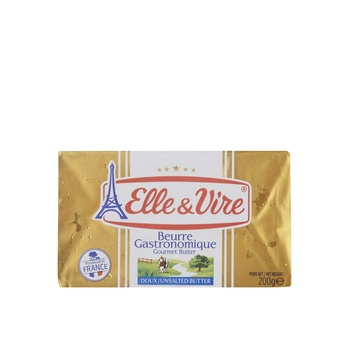 Elle&Vire Unsalted Butter 82% 200 G