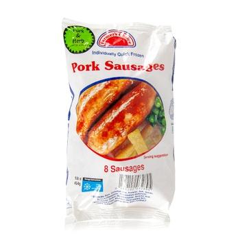 Farmers Choice Sausage Pork & Herb 454g