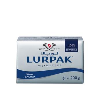 Danish Lurpak Salted Butter 200g