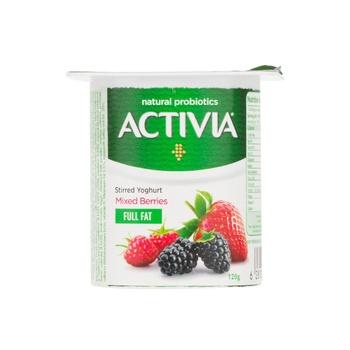 Activia Yoghurt Mixedberry 120g