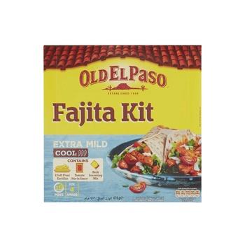 Old El Paso Ex Mild Dinner Fajita Kit 476g
