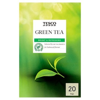Tesco Green Tea Bags 20 s