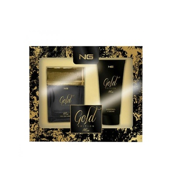Next Generation Perfumes Gold Edition 2 Piece Gift Set For Men