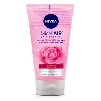 NIVEA Face Wash MicellAIR Rose Water 150ml