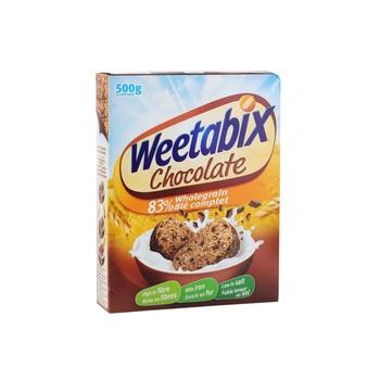 Weetabix Cereal Chocolate Biscuit 10X500g