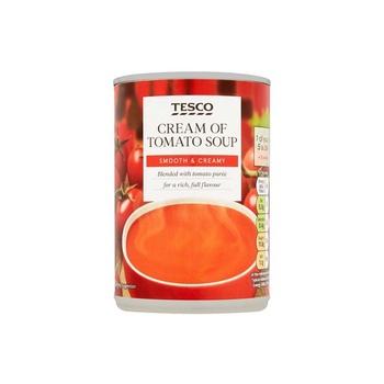 Tesco Cream Of Tomato Soup 400g