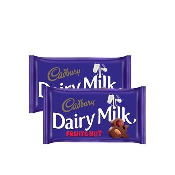 Cadbury Fruit & Nut  230g Pack of 2