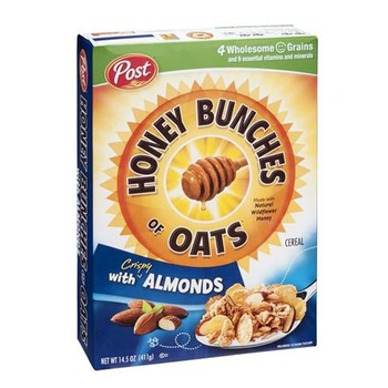 Post Honey Bunches Of Oats Almonds 14.5 OZ