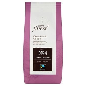 Tesco Finest Fair Trade Guat Ground Cffe 227g