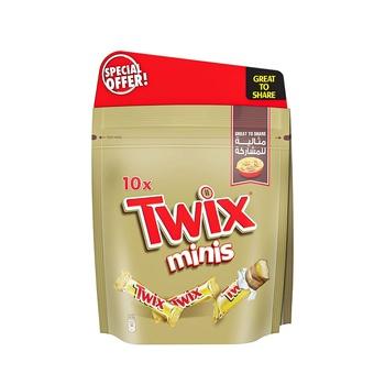Twix Mini 150g Pack of 2