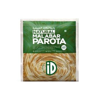iD Just Heat Natural Malabar Parota 400g