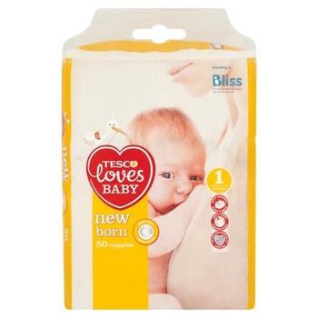 Tesco Loves Baby Newborn 1 50s