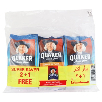 Quaker without Flakes 400g Bag 2+1Free