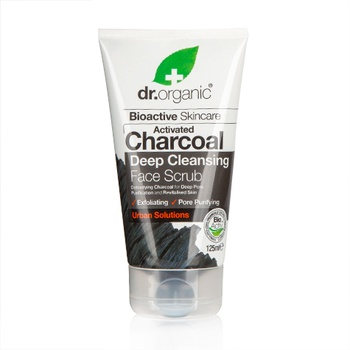 Dr Organic Activated Charcoal Face Scrub 125ml